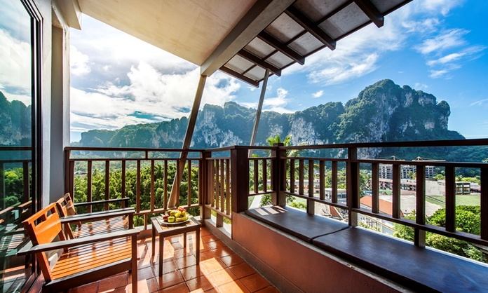 Deluxe Double or Twin Sea View Hotel Krabi Cha-Da Resort Krabi